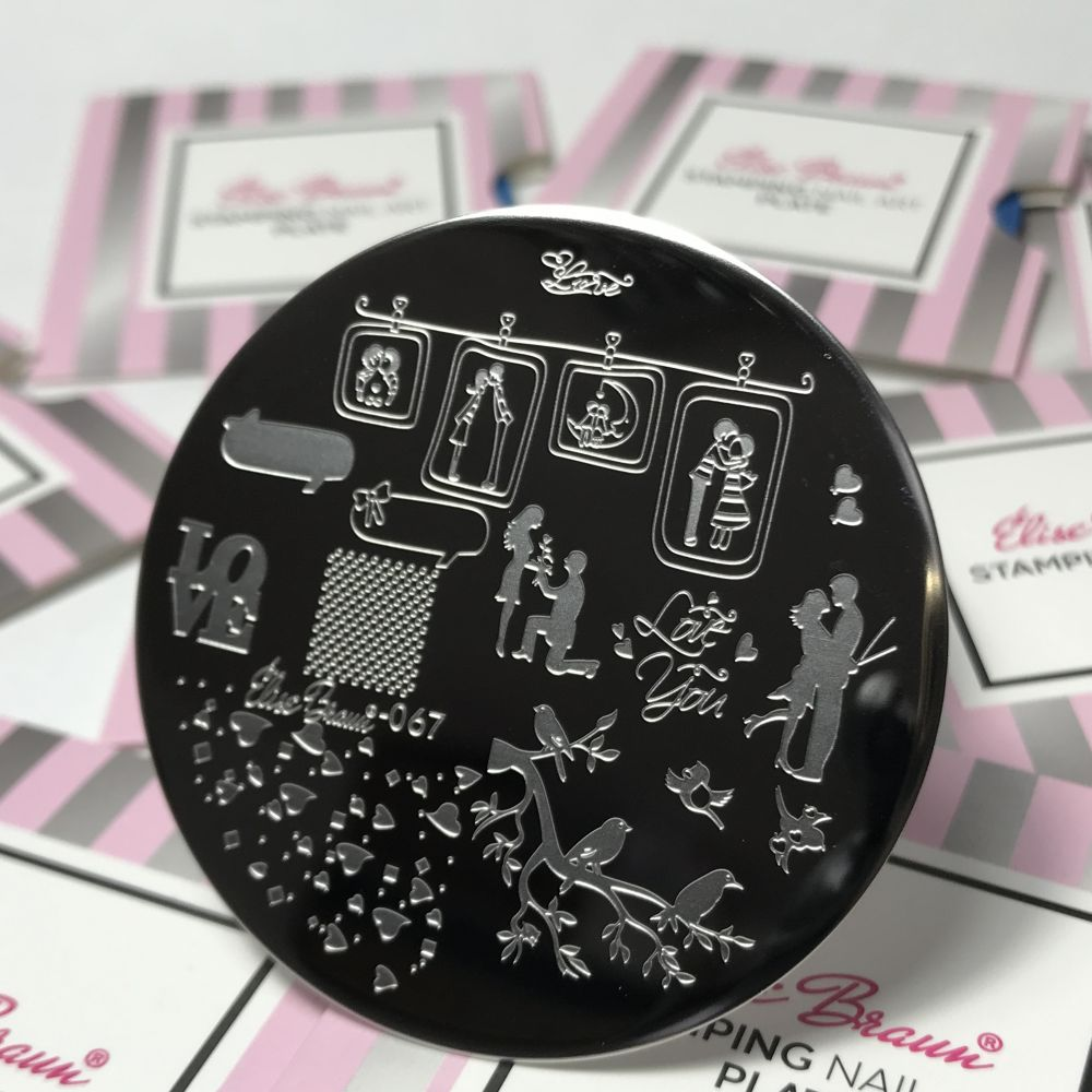 Stamping Plate #067