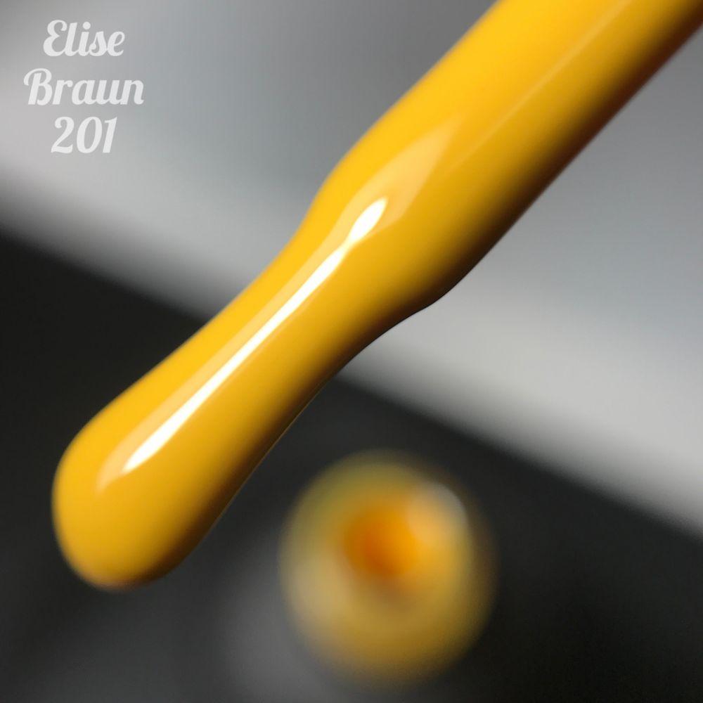 Покрытие гель-лак ELISE BRAUN #201 7ml