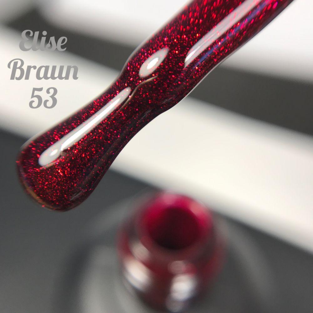 Покрытие гель-лак ELISE BRAUN #053 7ml