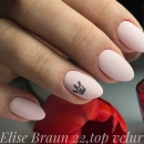 Matte Top Velur 15ml Elise Braun